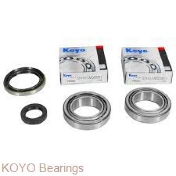 KOYO 6209-2RS deep groove ball bearings