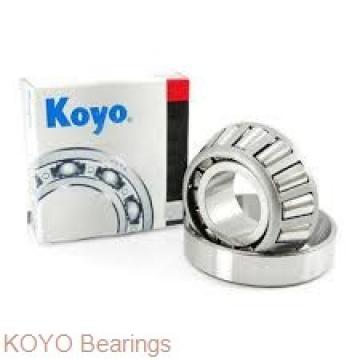 KOYO WOB67 ZZX deep groove ball bearings