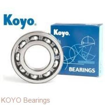 KOYO DC4926VW cylindrical roller bearings